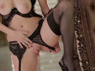 Babes Network: Danielle trixie masturbates in stockings