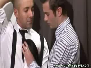 Masculine hot business men