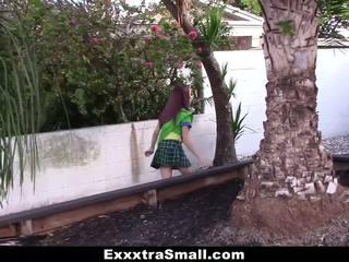 Exxxtrasmall - mini punca scout zajebal s velika tič