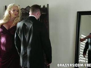 Brazzers Network: Brazzers blonde Alura Jenson gets banged hard
