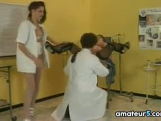 Schwanger patient im ein vierer mit sie doktor