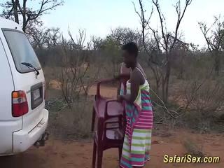 Divje afričanke safari seks orgija, brezplačno divje seks hd porno 33