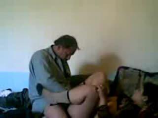 Horny amateur husband fucking his hot milf Video