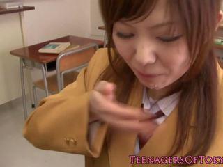 일본의 여학생 빨기 수탉 에 교실: 무료 포르노를 af