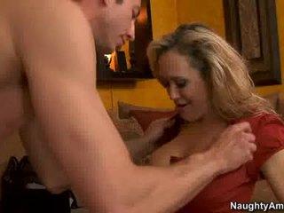 美洲獅 brandi 愛 thumps an 真棒 weenie 所有 rigid 在 她的 多汁 熱 口