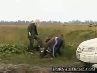 Two girls beat the shit out of him