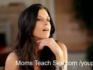 hot mom, threesome, mom