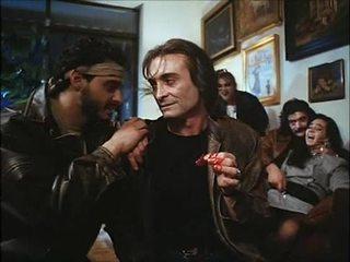 La noche del ejecutor (1992) espanjalainen birthday: vaimo & tytär perseestä & spoiled