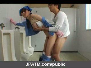 Japán nyilvános szex - ázsiai tizenéves exposing kívül part03