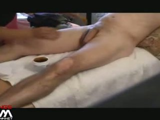Asian Girl Gives Cfnm Home Brazillian Waxing