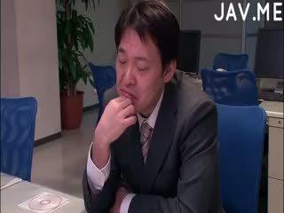 črna, japonski, cumshot