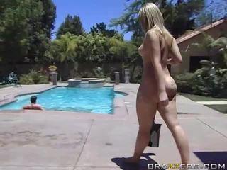 Alexis texas rides một chất béo con gà trống sau taking một tắm video
