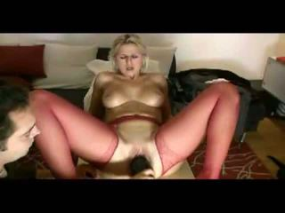 Blonde wife loves painful penetration ...