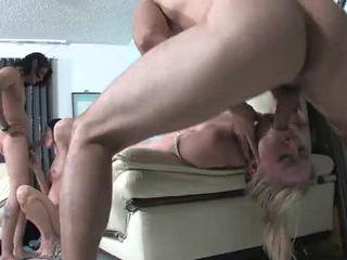 skupinový sex velký, kvalita obrovský pěkný, pěkný cum hq
