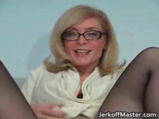 Sexy milf nina hartley stripping