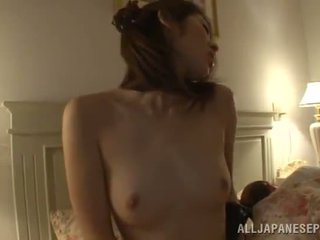 Spicy Akari Hoshino Masturbates While Her Husband Is Sleeping