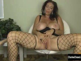 Big Tit Milf Charlee Chase Stuffs Her ...