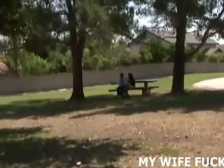 看 您的 妻子 敲打 一 stranger, 自由 色情 c9
