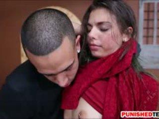 Skinny Teen Gina Valentina Domination And Gets Rammed