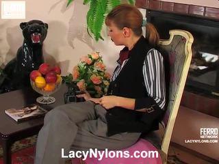 Alice And Alina Nasty Stockings Video