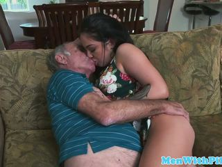 Pornstar aria rose rimming elderly mans fund: gratis porno 48