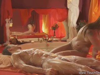 Blonde Loves To Do Massage