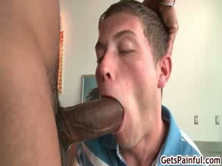 Cutie gets his tight anus ripped