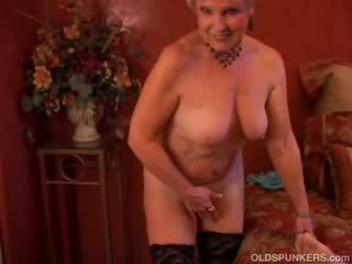 cougar, old, grandma