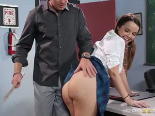 Brazzers - Naughty School girl Dillion Harper loves cock