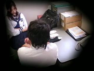 Koolitüdruk tabatud stealing blackmailed 3
