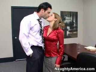 hardcore sex, sexo en la oficina, por detrás