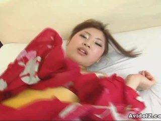 एशियन goddess kousaka anna receives एक हॉट ccreampie