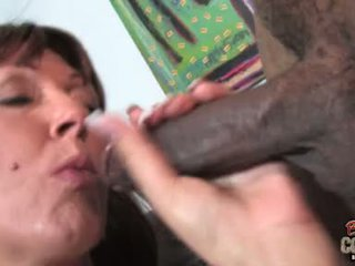 Desi foxx hottie cougar doing ein französisch job