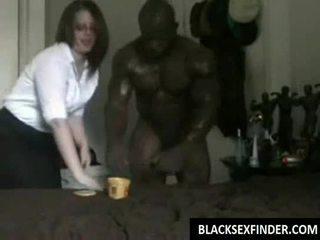 مدرسة الطالبة أو مختلط fucks أسود 10 inch كوك