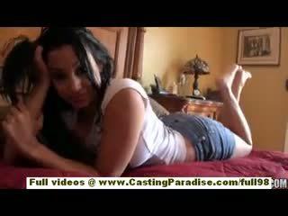 Abella anderson amatorskie latynoska nastolatka dziewczyna z duży tyłek doing cios