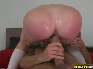 Tineri student alexis ford seduce ei antrenor