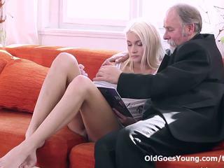 mladý, orgazmus, rimming