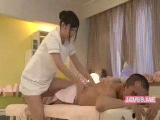 japoński, dziecko, masaż