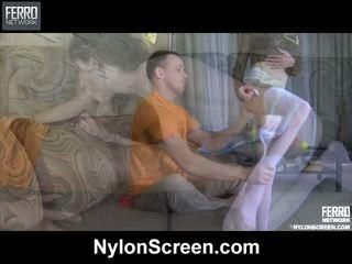 Agatha connor nylon duo im aktion