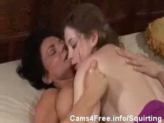 esguicho, lésbica, mães e adolescentes