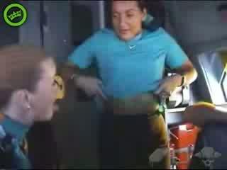 현실 hostess 비디오 비디오