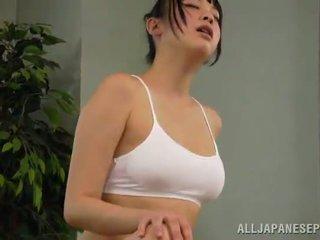 Medus reiko kobayaka was līdz sexcited par petting