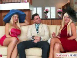 big boobs, blowjob, threesome