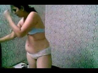 Sheepish india slut undressing uncovered