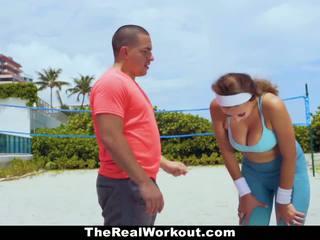 Therealworkout - นมโต ผู้หญิงสวย ระยำ โดย trainer