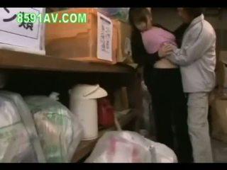 일본의, 큰 가슴, 엿