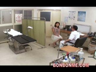 japanisch, webcam, arzt
