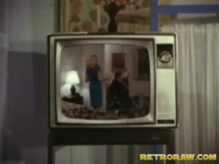 Retro televízie show trio