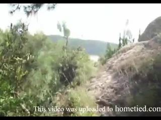 Mlada amaterke divje jebemti medtem mountain hiking