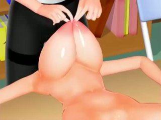 big, tits, hentai